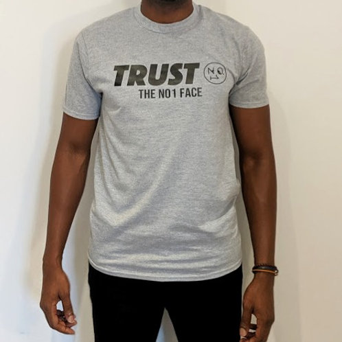 Trust No.1 Tshirt - Grey