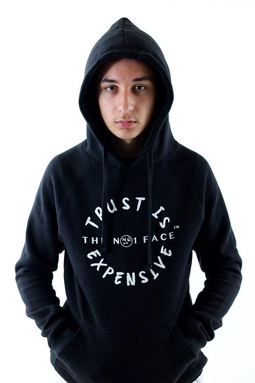 Trust is Expensive Hoody - Black