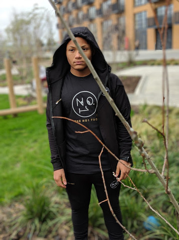 The trademark The No.1 Face reflective tshirt