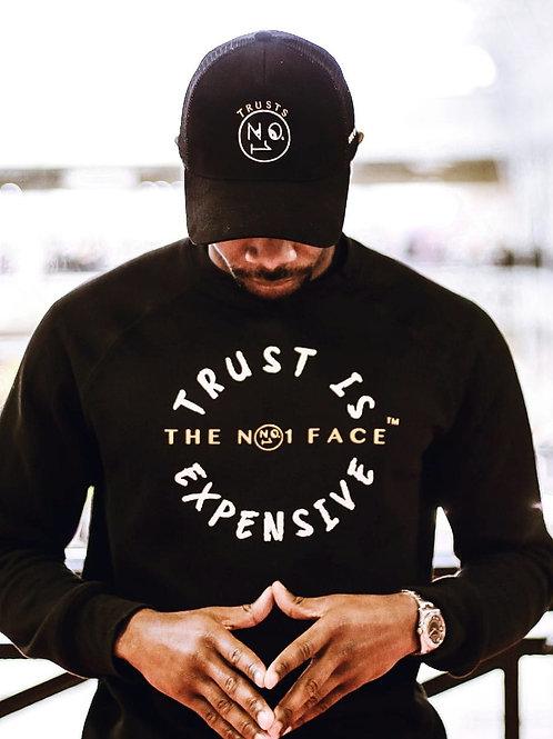 Trust is Expensive Sweatshirt - Black