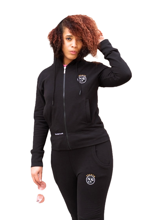 TRUSTS NO1 Ladies Tracksuit - Black