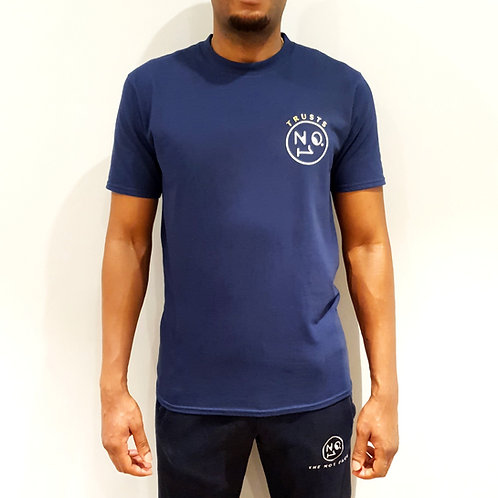 Trusts No1 small logo navy T-Shirt
