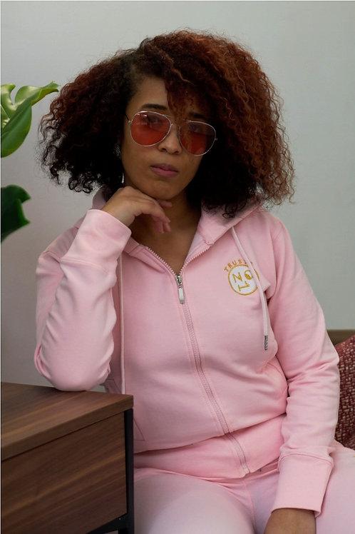 TRUSTS NO1 Ladies Tracksuit - Pink