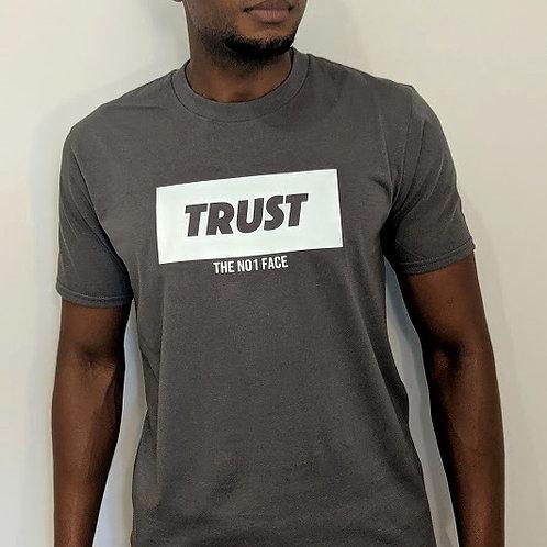 TRUST NO.1 Tshirt - Grey