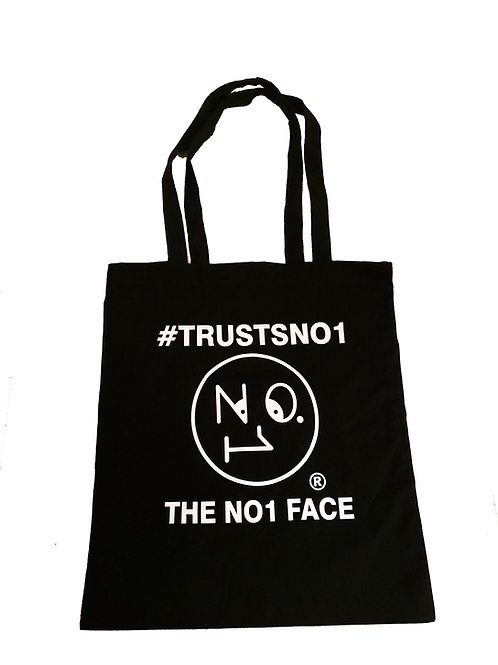 Tote Bag #TrustsNo1- Black