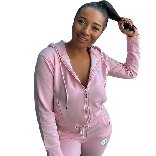 Trusts No.1 Ladies Tracksuit - Pink