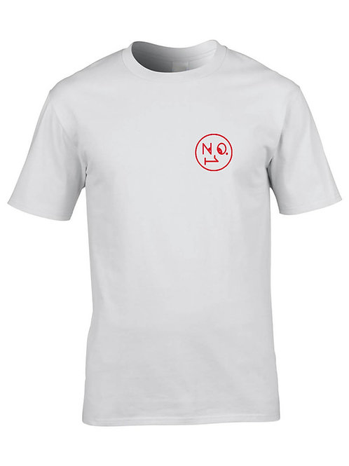 The No1 Face Logo T shirt - White