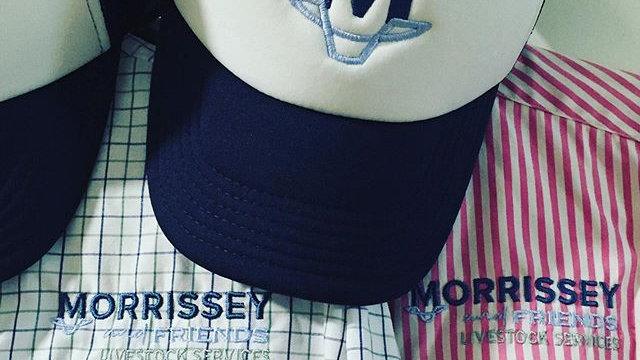 Brand Mesh Trucker Cap