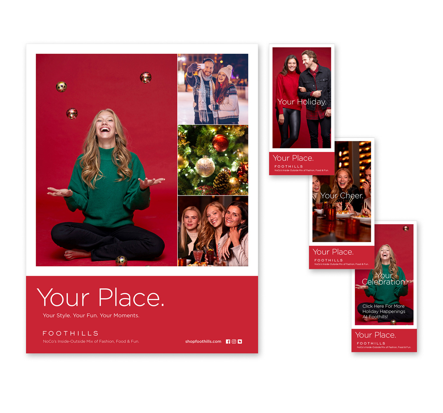 Foothills Holiday Campaign