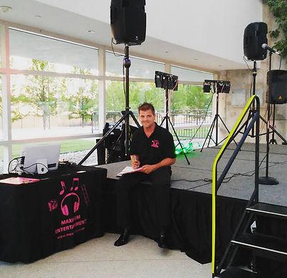 DJ Max McGuirk of Maximum Entertainment in Tulsa, OK