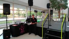 BOK Center Lobby Party