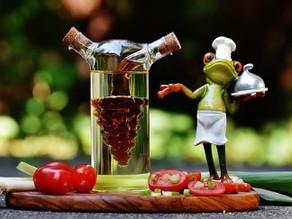 Mediterranean Diet Olive Oil and Tomato Paste Spread