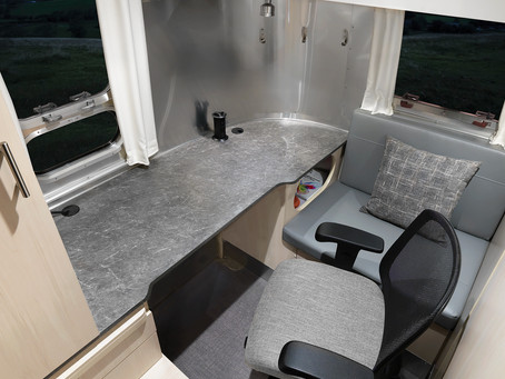 Airstream Makes A Mobile Office