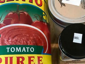 Danger Men Cooking Tomato Sauce