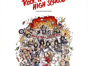 The Ramones Rock 'N' Roll High School
