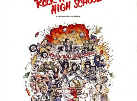 The Ramones Rock 'N' Roll High School