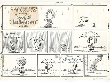 Unseen Originals from the Schulz Museum offers a rare look at original Peanuts comic strips