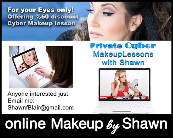 Shawns online Makeup Lesson