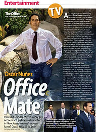 oscar Nuez The Office- makeupbyshawn