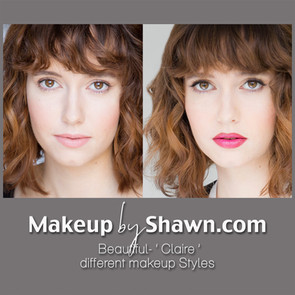 MakeupbyShawn-Claire before and after