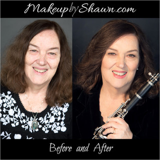 Makeupbyshawn-Before and After Makeup