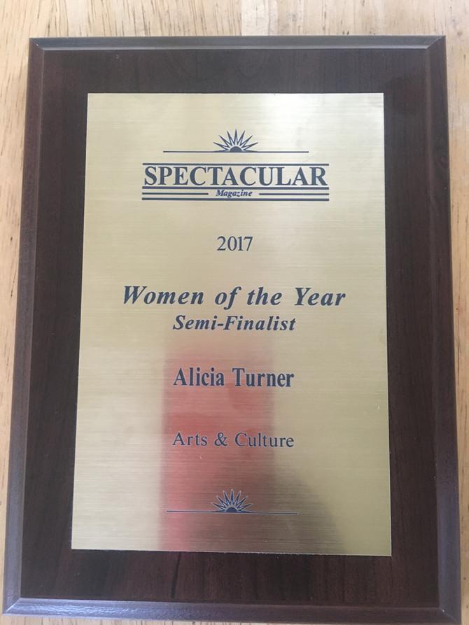 Spectacular Magazine 2017 Women of the Year Gala... Semi-Finalist..🏆