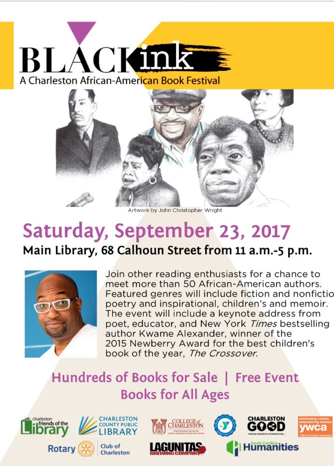 Present by Black Ink – The Charleston African American Book Festival