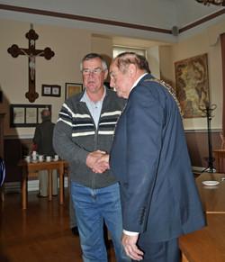 N Morrissey.Mayor M Brett