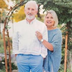 Peter Brady & his wife