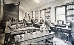 Old Science Rm Pic CBS Jame's St