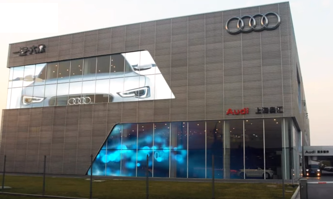 AUDI STW GLASS