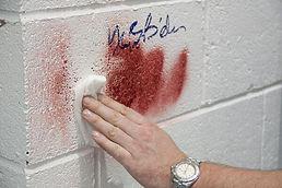 antigraffiti stainout