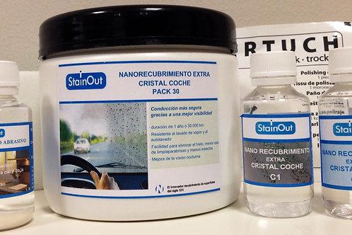 kit para cristales de coche