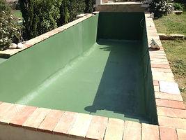 impermeabilización de piscinas con poliurea , resistentes a químico y alta elasticidad