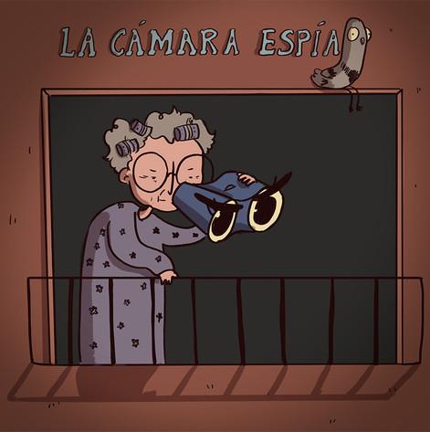 La cámara espía
