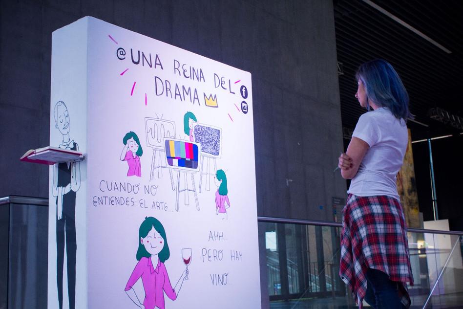 Mural: CUANDO NO ENTIENDES EL ARTE