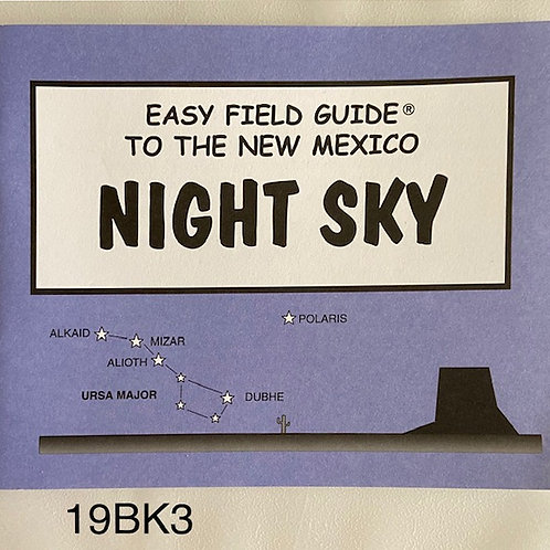 BOOK-Easy Field Guide to the New Mexico Night Sky