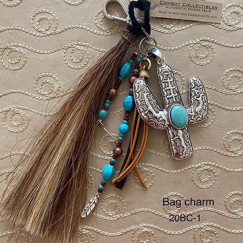 HORSE HAIR ITEM-Bag Charm (Saguaro)