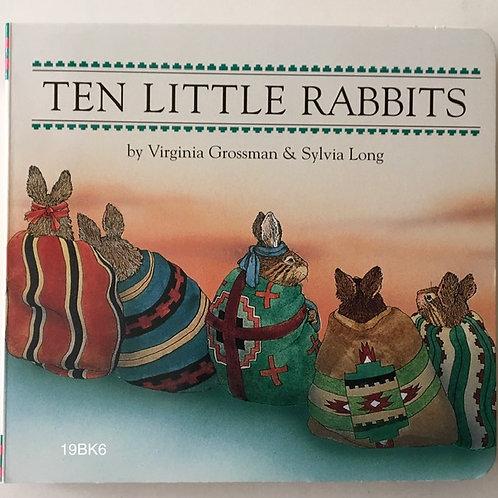 BOOK-Ten Little Rabbits