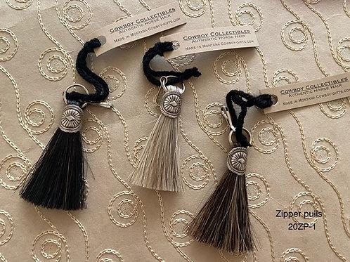HORSE HAIR ITEM-Zipper Pulls