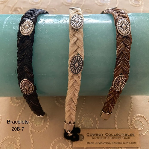 HORSE HAIR ITEM-Braided Bracelet