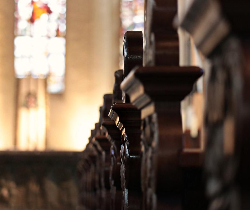 教会の通路