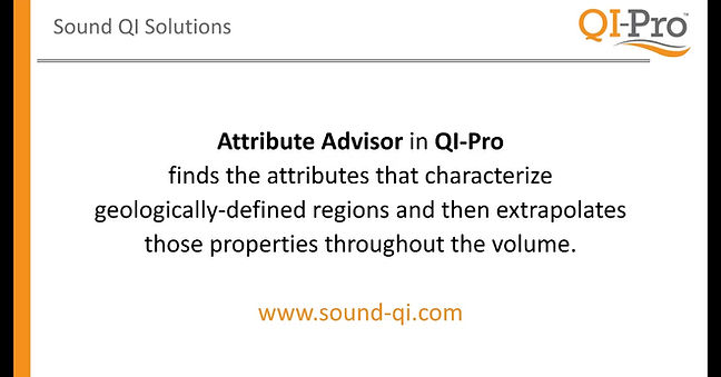Attribute Adviser is one of the newest features in QI-Pro by SoundQI.
