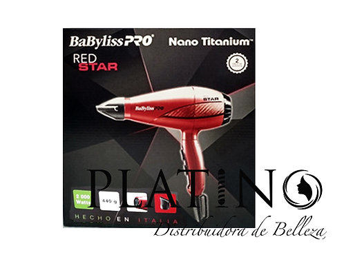 BABYLISS PRO RED STAR HAIRDRYER