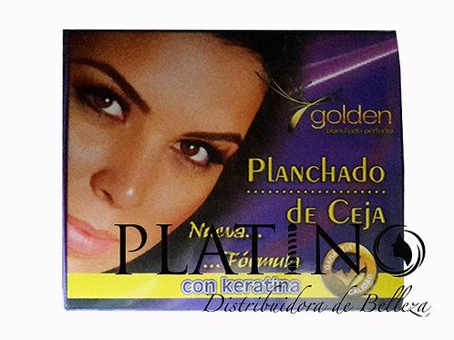 PLANCHADO DE CEJA GOLDEN