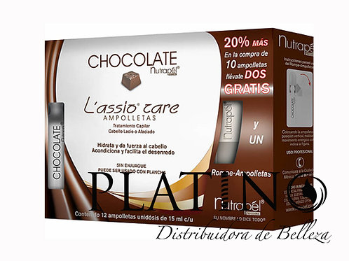 AMPOLLETAS LASSIO CHOCOLATE