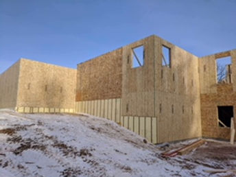 House wood framing