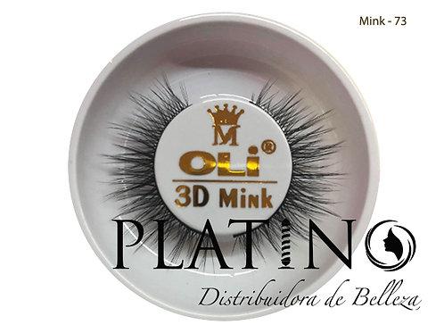 PESTAÑA OLI MINK 73