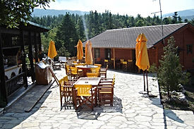 Chalet Likouresi Village Luxury Cabins Barbeque in Karpenisi Greece