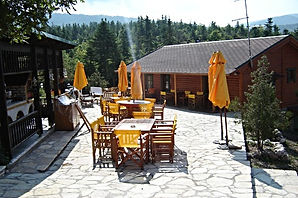 Chalet Likouresi Village Luxury Cabins Barbeque in Karpenisi Greece